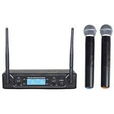 Zzipp Set Doppio Radiomicrofono UHF a Frequenza Fissa - Due Trasmettitori Gelato