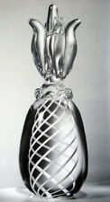LARGEST NEW in BOX STEUBEN glass 5LB GIANT PINEAPPLE ornament pine apple #8994
