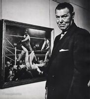 1954 Vintage JACK DEMPSEY Boxing Sports Athlete Photo Art PHILIPPE HALSMAN 16x20