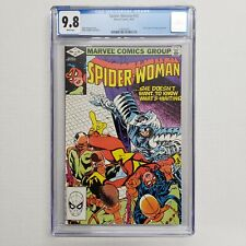 Spider-Woman 43 CGC 9.8 White Pages Marvel Comics Claremont Story