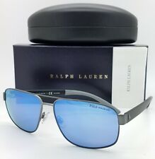 Polo Ralph Lauren Pilot sunglasses PH3112 915722 62mm Blue Polarized AUTHENTIC