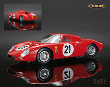 Ferrari 250lm N.A.R.T. vencedores le mans 1965 Rindt/Gregory/hugus, LookSmart 1:18
