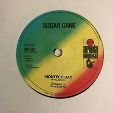 "Sugar Cane - ""Montego Bay""  7"" (1978) VG+  / ""Topsy Turvy"" / AHA 524 /  REC4"