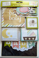 SIMPLE STORIES [HELLO BABY] Snap Pack (127 Cards & Die Cuts)  Save 40%