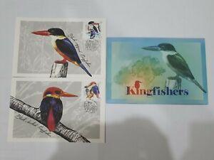 Singapore 2018 Kingfishers Maxicard 2pcs
