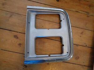 gm 15596118 new gm headlight bezel 1985-1991 chevy g10 g20 g30 gmc 150 250 3500