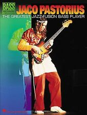 JACO PASTORIUS GREATEST JAZZ-FUSION BASS TAB BOOK
