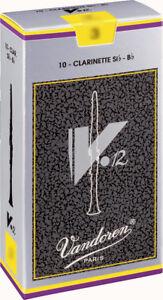 Anche de Clarinette Sib / Bb Vandoren V12 toutes forces  - boite de 10 anches