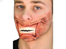 Halloween Woochie clavado boca prótesis Maquillaje profesional fx HORROR UTILERÍA