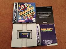 MARIO PARTY ADVANCE NINTENDO GAMEBOY ADVANCE GBA SP GAME BOXED WITH MANUAL