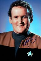 COLM MEANEY signed Autogramm 20x30cm STAR TREK in Person autograph COA