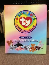 Ty Bboc Card Binder 14 ty official Plastic Page Card Holder