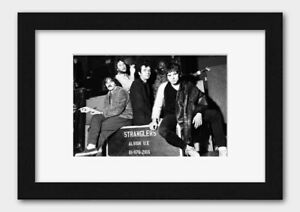 The Stranglers - Band in England October 1977 Print 2