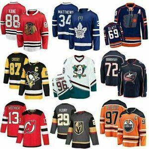Retro NHL Hockey Jersey Anaheim #96 Charlie Conway Mighty Ducks Movie Shirts