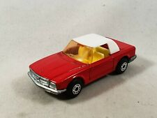 Matchbox Superfast Mercedes 350 SL W107 Lesney England Nr. 6 rot / red