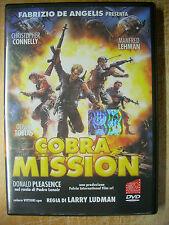 Cobra Mission (1986) DVD AVOFILM FUORI CATALOGO  OTTIMO RARO