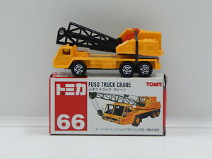 Fuso Truck Crane (Yellow) - Made in China Tomica 66