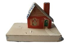 Vintage House Christmas Village Style Cardboard Collectible Christmas Tree #8