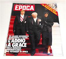 EPOCA n.1669 1 ottobre 1982 giornale - magazine: Grace Kelly,Carolina di Monaco