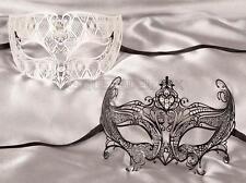 Couple Masquerade ball mask Burlesque Costume Dance Birthday Wedding Prom Party