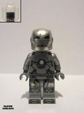 Lego Figure Iron Man Mark 1 Armor (trans-clear Head) - Sh565