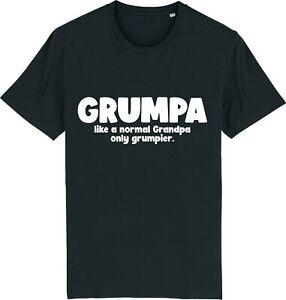 Grandpa Grumpa T-Shirt Grumpy Grandad Funny TShirt