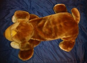"Animal Alley HUGE Plush 30"" Stuffed Soft Darby Puppy Dog Body Pillow Toys R' Us"