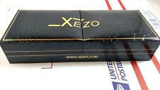 XEZO Fountain Pen Case Storage Box Hard Shell Limited Edition Gold Protective