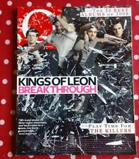 Q MAGAZINE JANUARY 2009 Q270 KINGS OF LEON KILLERS SNOW PATROL PINK COLDPLAY ETC