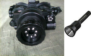 Night Vision Goggles & Infrared Flashlight combo 500' sight distance