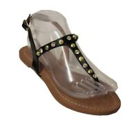 Halogen Women's Lena Sandal Black US 7 NOB