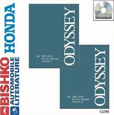 OEM Digital Repair Maintenance Shop Manual CD for Honda Odyssey 2007-2010