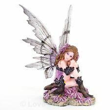 Heather Fairy with Blackbird 14cm High Nemesis Now Faerie Figure Magical Fantasy