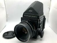 【Exc+4】 Mamiya RB67 Pro S + Sekor C 127mm F3.8 Lens + 120 Film Back From JAPAN