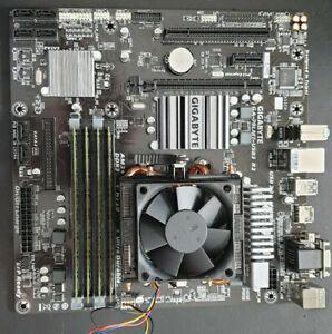 Gigabyte GA-78LMT-USB3 R2 Motherboard, AMD FX-4300 CPU @ 3.8Ghz, 8GB DDR3 1333Mh