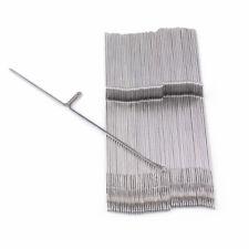 50Pcs máquina de tejer ganchillo agujas de acero piezas para hermano hilado de lana