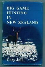 Gary Joll BIG GAME HUNTING IN New Zealand 1968 Hunter Hunt Deer Wapiti Moose Ram