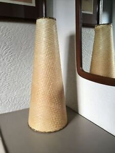 STUNNING MID CENTURY SCANDI TALL LAMP SHADE #5846
