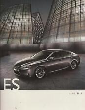 2013 13 Lexus ES original sales brochure