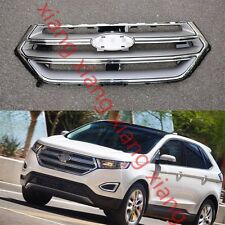 1PCS Front Bumper UPPER Grilles Center Cover for Ford EDGE 2.7T 2015-2016