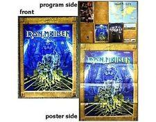 IRON MAIDEN somewhere back 1st LEG 2008 tour postergram