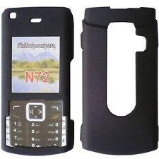 CUSTODIA RIGIDA COVER CRYSTAL CASE BLACK MAT per NOKIA N72