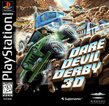 Dare Devil Derby 3D PS1 Great Condition Fast Shipping