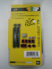 Cycle bike puncture repair kit with tyre levers patches and glue Tour de France