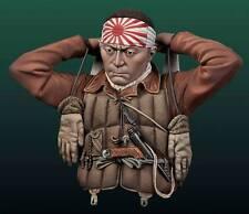 Andrea Miniatures Pilota Kamikaze giapponesi WW2 KIT Busto 1/10th non verniciata