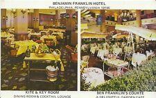 America Postcard - Benjamin Franklin Hotel - Philadelphia - Pennsylvania U970