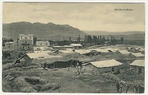 Israel, Palestine, Jericho Moderne, old postcard
