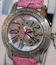 New Authentic womens joe rodeo pink Beverly JBLy3 1.35ct.aprx.real diamond watch