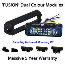 Dual Colour LED Strobe Warning Lights Module Like Premier Hazard beacon lightbar