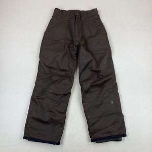 Orage Kids Brown Insulated Snow Pants Ski Snowboard Size 14